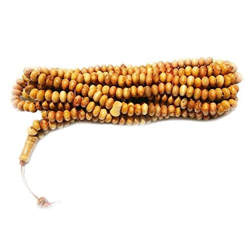 Natural Wood 1000 Beads Tasbeeh Misbaha Islamic Gift Prayer Beads 7x12 mm Misbaha Dhikr