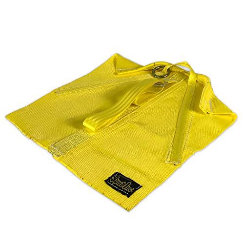 Spud, Inc. Magic Carpet Schlitten | Power Speed Schlitten | Stärke und Zustand (gelb)