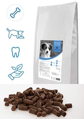 Balance Pet Food Koudgeperst hondenvoer puppenvoer kip & rijst 14kg Juniorvoer glutenvrij Minipellets met lijnzaadolie, licht verauwd