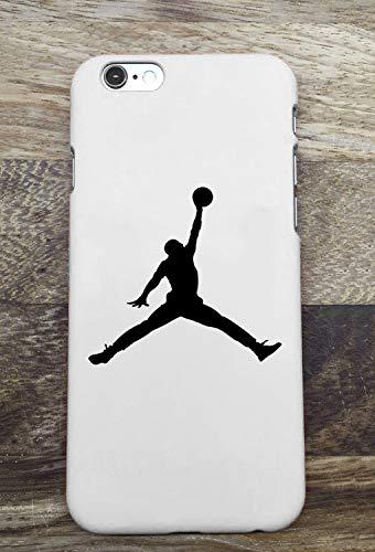 Toxdi Air Man Logo iPhone 7/8 Plus Funda, Carcasa Silicona Protector Anti-Choque Ultra-Delgado Anti-arañazos Case Caso para Teléfono iPhone 7/8 Plus (Blanco)