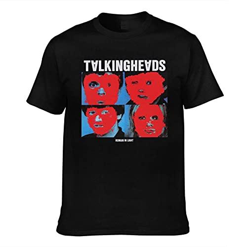 Talking Heads Remain In Light Tシャツ メンズ 夏服 半袖 レディース コットン 綿 薄い 快適 通気性おしゃれ 丸首 人気 ファッション