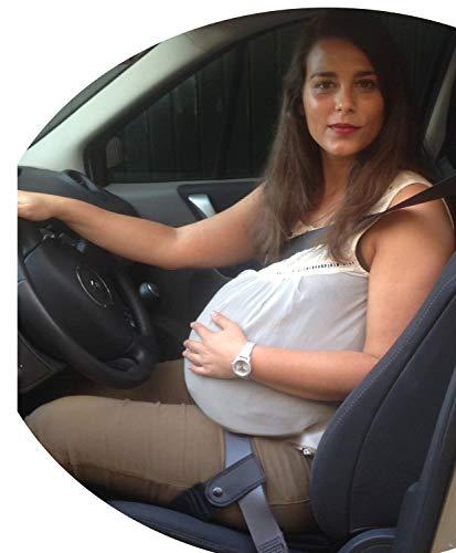 Cintura di Sicurezza in Gravidanza | Cuscino da Auto per Donne in Gravidanza con passanti per cintura di sicurezza | Protegge il Bambino e la madre evitando il rischio di Aborto | 100% GARANZIA e SPEDIZIONE GRATUITA