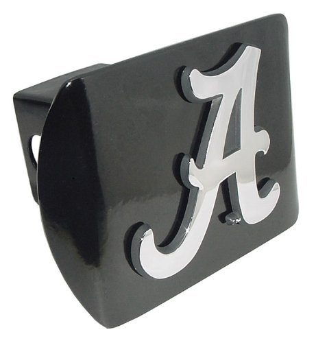 University of Alabama Crimson Tide Black with Chrome Plated Metal