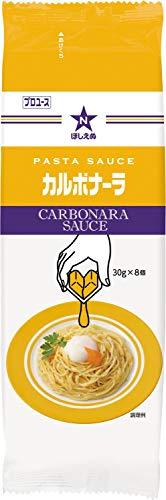 『ほしえぬ パスタソース カルボナーラ(ディスペンパック) 30g×8個』のトップ画像