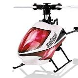 DBXMFZW Helicóptero de 6 Canales Gyro Control Remoto Helicóptero Soltero Aironeless RC Aircraft...