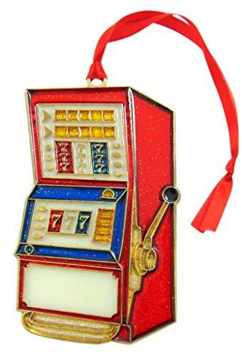Westmon Works Slot Machine Las Vegas Casino Christmas Ornament Decoration