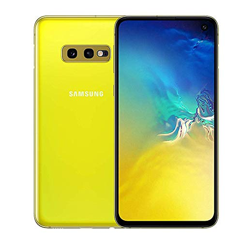 Samsung Galaxy S10e 128 GB Hybrid-SIM Android Smartphone - Yellow (UK Version)
