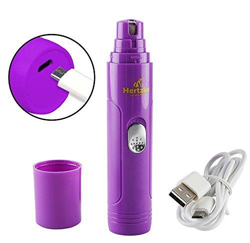 Hertzko - Lima eléctrica para mascotas - Cuida, corta, da forma y suaviza...