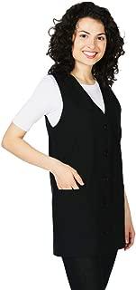 Smockers Ronny Professional Salon Vest, Stylist Vest, Cosmetology Uniform