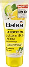 Balea Hand Cream Buttermilk & Lemon, 100 ml (pack of 2) - German product