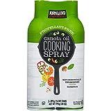 Kirkland Signature Canola Oil Cooking Spray 2-397g (14 oz) Cans (2 x 397 g (14 oz)) - SET OF 2
