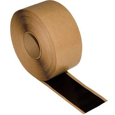 "6"" x 25' Roll Black EPDM Single Stick Flashing Tape"