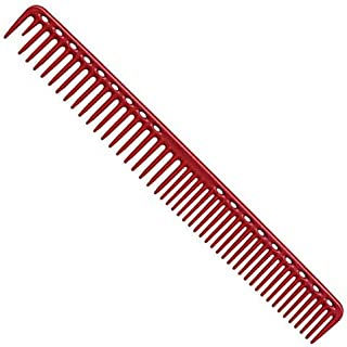 YS Park 333 Round Tooth Extra Long Cutting Comb - Red
