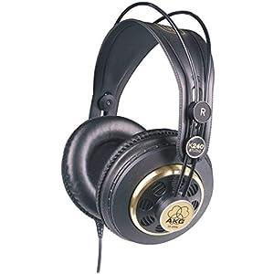 AKG Pro Audio K240 STUDIO Over-Ear, Semi-Open, Professional Studio Headphones