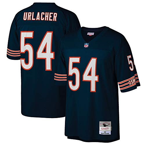 Mitchell & Ness Brian Urlacher Chicago Bears Throwback Replica Jersey (Large)