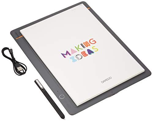 ワコムWacomBambooSlateLA4対応ミディアムグレースマートパッド電子ノートボールペンで紙にメモやスケッチを書いてデジタル化スマホタブレット対応CDS810S