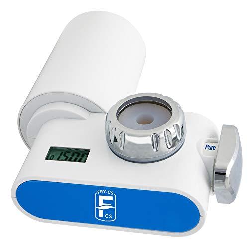 Sistema di Filtro Acqua, Elimina Cloro, Metalli Pesanti, Pesticidi, Microplastiche, sistema super certificata SGS,RohS, NSF e FDA - Filtri d'acqua per rubinetto - Fry-Cs