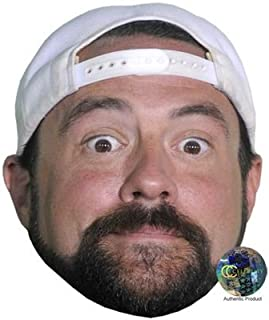 Kevin Smith (White Hat) Celebrity Mask, Card Face and Fancy Dress Mask