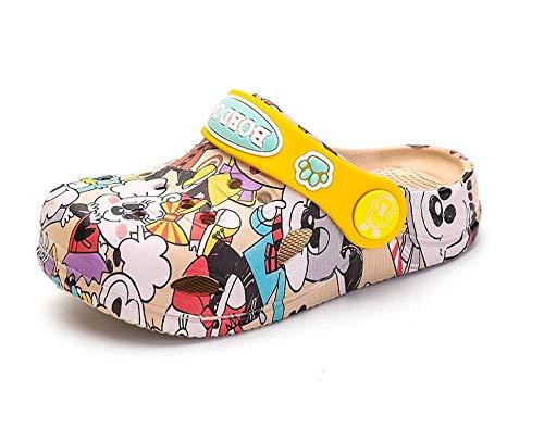 Schuh , Kinderschuhe, Herren- und Damen-Freizeitschuhe für Kinder, atmungsaktive Hohlschuhe für den Sommer, Kindersandalen-Weiß_130 , Primark-Hausschuhe