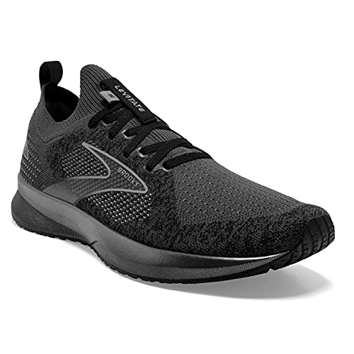 Brooks Levitate StealthFit 5, Zapatillas para Correr Hombre, Black Ebony Grey, 42.5 EU