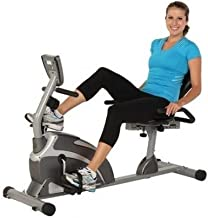 Exerpeutic 1000 Magnetic Hig Capacity Recumbent Exercise Bike for Seniors