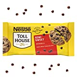 One 36 oz bag of Nestle Toll House Semi Sweet Chocolate Chips Semi sweet morsels are perfect to add to chocolate chip cookies, brownies or pancakes Chocolate baking chips made with deliciously rich and creamy 100% real chocolate Enjoy semi sweet choc...