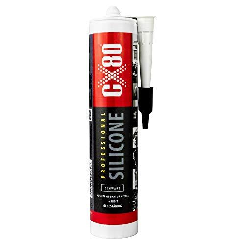 Hochtemperatur Silikon Hitzebeständig 310 ml schwarz CX80 Motordichtmasse CX80 3828