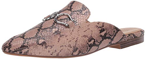 Naturalizer Women's Leanna Mules, Nude Snake,5 M US