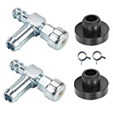 JJDD Replacement 735-0149 935-0149 Fuel Tank Bushing 951-0171 751-0171 Fuel Shut Off Valve Clamps for MTD Troy...