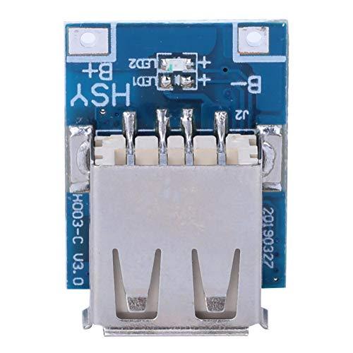 10 Uds 5V 1A Boost Step Up Módulo de fuente de alimentación Batería de litio Placa de protección de carga USB Carga incorporada y descarga de energía Mos