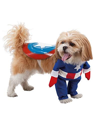 DISBACANAL Disfraz de superhéroe para Perro - -, M