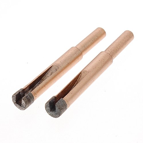 JINGLING 10mm 3/8 inch Diamond Hole Saw Core Drill Bit Tools for Stone Pack of 2Pcs