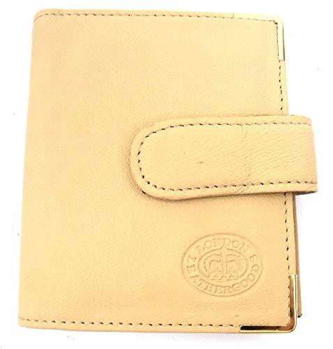 Leather Emporium supérieur FEMMES HOMMES véritable cuir carte de crédit Support Poche Porte-Monnaie - Rouge