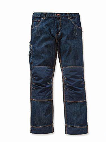 Worker-Jeans Cody mit robustem Cordura ver, Kleidergröße : 50, Farbe : blau