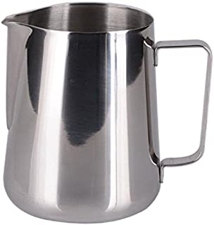 SMS Homeware Stainless Steel Milk Frothing Jug || 600 ML || Latte Maker || Frothing Pitcher for Coffee