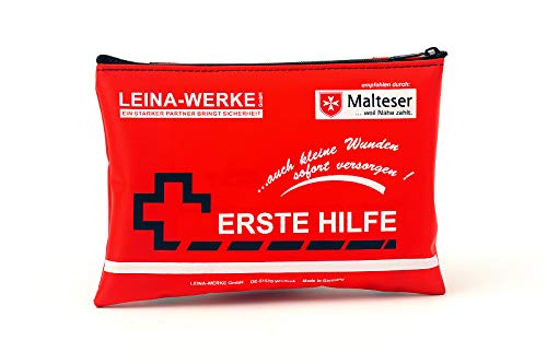 Leinawerke 50000 Kit de premiers secours mobile 2 couleurs Rouge