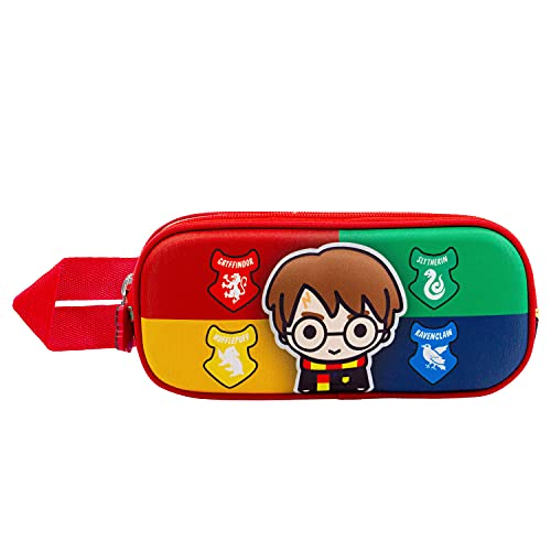 KARACTERMANIA Harry Potter Wizard-Estuche Portatodo 3D Doble, Multicolor (2116)