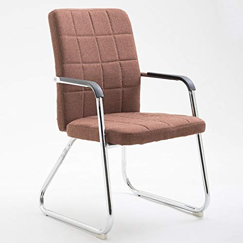 Chaises Surface du siège en tissu. Salle de réunion arrière respirante. Chaise de réception. Chaise pour ordinateur de bureau. (Couleur : B)