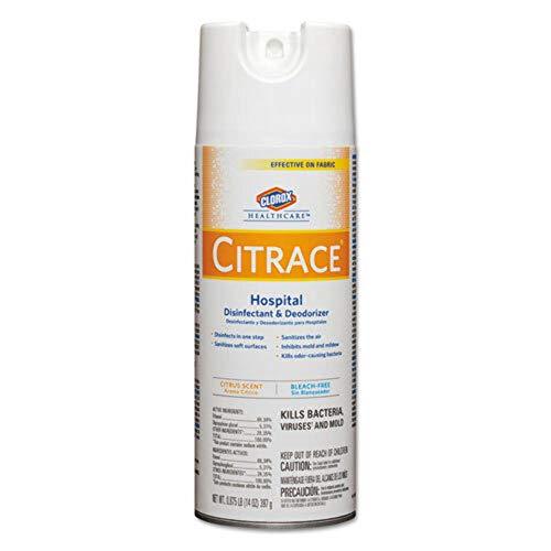 Citrace 49100 Hospital Germicide, Fresh Citrus Fragrance, 14 fl oz...