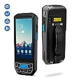 MUNBYN PDA de Lente Honeywell Android 7.0 PDA Palm Hosteleria Lector Código de Barras 1D 2D, 5 Pulgadas 3G/ 4G/ GPS/WIFI Ordenador en Mano 4800 mAh IP66 para Almacén, Restaurante, Mercado