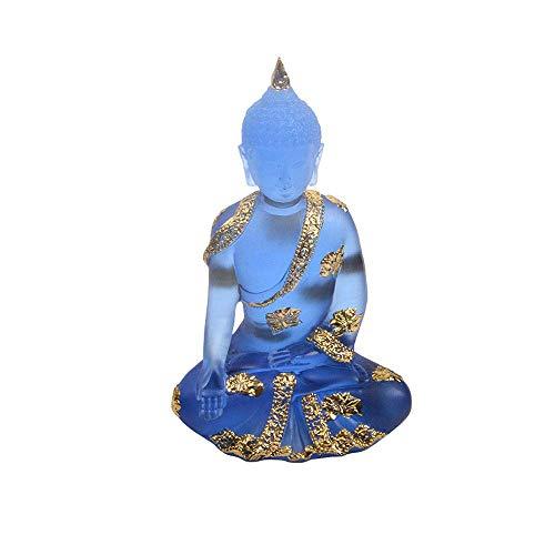 Resin Craft Home Decoration Zubehör Buddha Statue Buddhismus Buddha Skulptur Buddhismus Ornamente