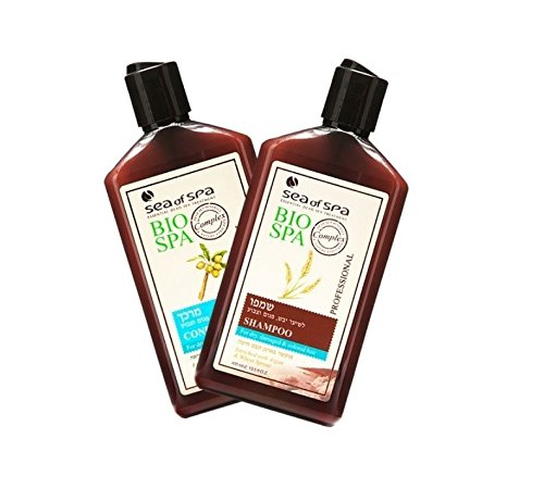 ea Of Spa Dead Sea Minerals - Bio Spa - Conditioner & Shampoo for Dry, Damaged Hair enriched with Argan & Wheat Sprout (2 Pack)
