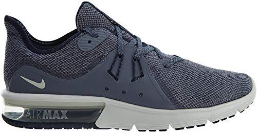 Nike Herren Air Max Sequent 3 Dunkelblau Mesh Laufschuhe 42