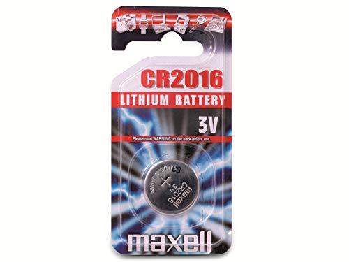 Maxell CR2016 Pile bouton lithium