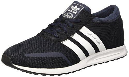 adidas Herren Los Angeles Sneaker, schwarz/blau, 41 1/3 EU