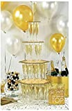 Amscan 242479 Champagne Tower Kit | Gold-Themed Party | Party Decoration