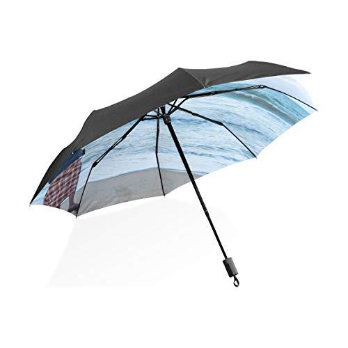 Grand Parapluies pour La Pluie Pêcheur Solitaire...