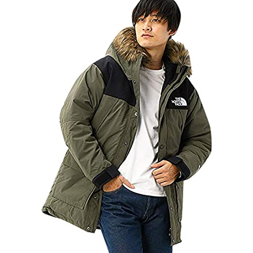 [ザノースフェイス] コート マウンテンダウンコート ND91935 ニュートープ 日本 L (日本サイズL相当)