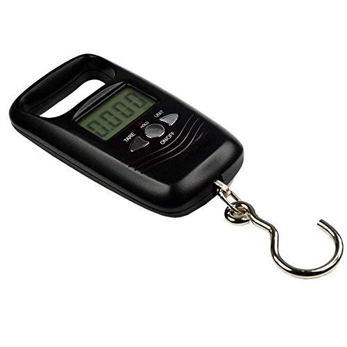FEE-ZC Kitchen Home Multifunción Digital Pocket Scale Mini Hanging Scale Pocket Portable 50Kg LCD Digital Hanging Equipaje Ponderación Gancho de Pesca Pescado