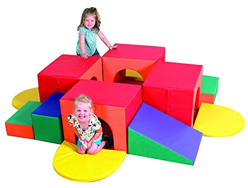 Children's Factory Tunnel Labyrinth Toddler Climbing Toys Climber for Kids Indoor Playground